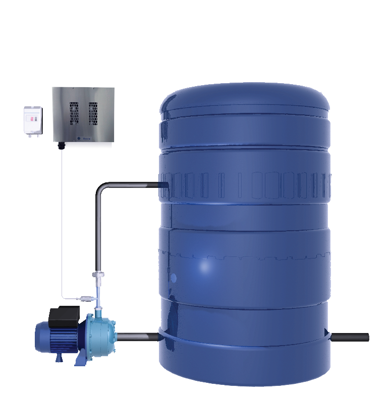 Azure Water Disinfection System. Domestic Water Treatment Cape Town