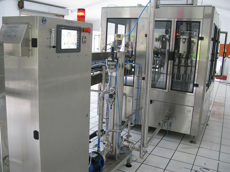Bright Blue 20G Ozone System - Bottle and Package Disinfection. Ozone Bottle Rinsing South Africa