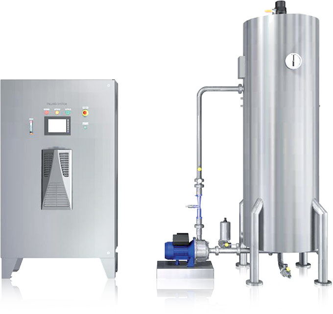 Bright Blue CCS Ozone System - Bottle Disinfection Systems and Product Disinfection. Ozone Water Treatment