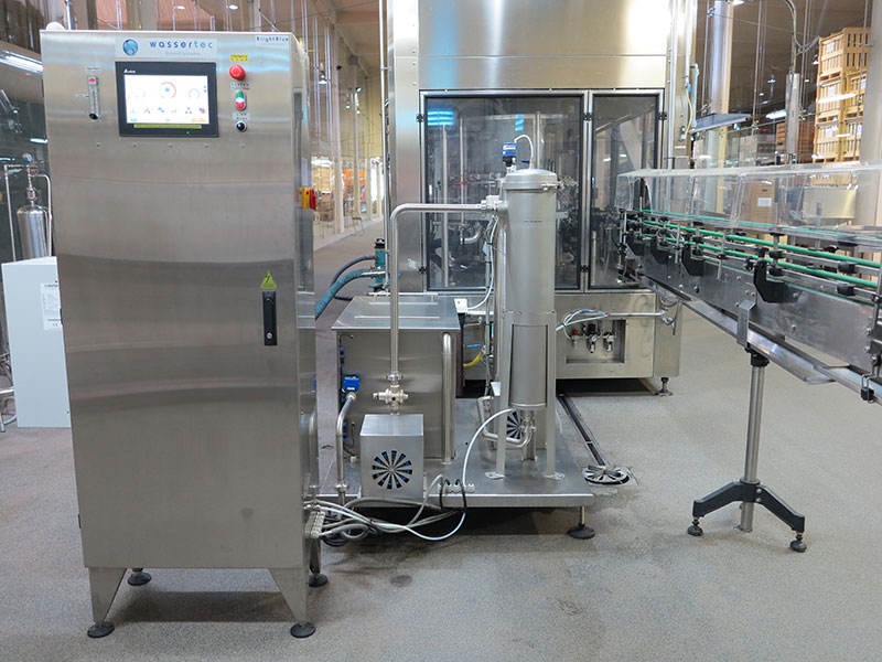 Bright Blue 20G Ozone System - Bottle and Package Disinfection - Wine Industry Ozone Western Cape