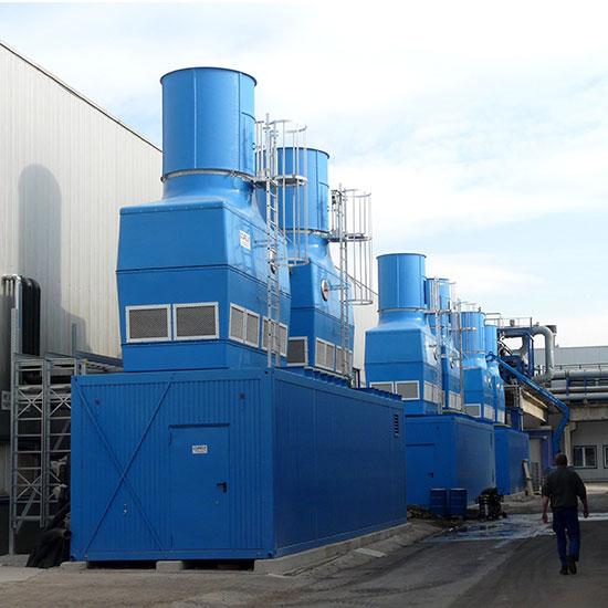 Wassertec - Ozone generator technology.  Indigo. Indigo ozone system.