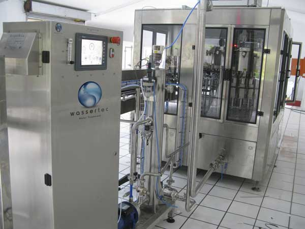 Bright Blue Ozone Bottling System.